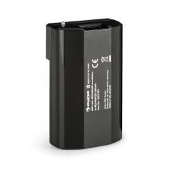 Akku für MEGA080USB Megaphon 1500mAh LED-Lämpchen 2 Stück schwarz