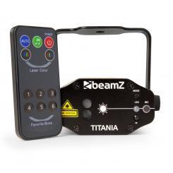 Titania Double Laser 200mW RG Gobo Laserklasse 3B IR-Fernbedienung