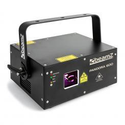 Pandora 600 Show-Laser TTL RGB MIC DMX ILDA Soundaktiv Master/Slave 400mW