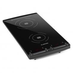 VariCook Slim Induktionskochfeld 2 Kochplatten 2900W 60-240 °C schwarz