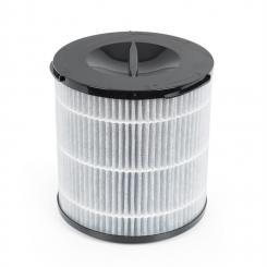 Arosa Filter 3 Komponenten Vorfilter HEPA H13 Kohlefilter schwarz