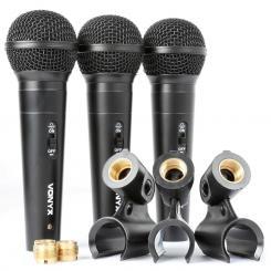 VX1800S dynamisches Mikrofon Set XLR inkl. Kabel