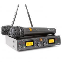 PD781 drahtloses 2 x 8-Kanal-UHF-Mikrofon-System