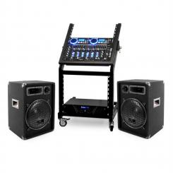 DJ PA Set Rack Star Neptun Palace 250 Personen