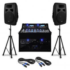 "DJ PA Set ""Urban Trip-Hop Beats"" 250 Personen 1000W USB"