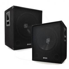 SMWA18 Paar DJ PA 46cm Aktiv Subwoofer Box 1000W Lautsprecher