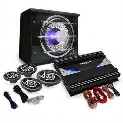 "4.1 Car Hifi Set ""Black Line 540"" Verstärker Boxen"