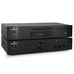 Elegance Tower 2.0 HiFi Set CD-Player USB 600W Stereo-Cinch digital-out