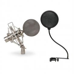 CRM15-SET Mikrofon Set 1 x Studiomikrofon 1 x Popschutz
