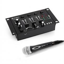 Mini DJ Set 1 x 3/2-Kanal Mischpult 1 x Handmikrofon