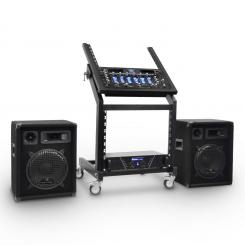 DJ PA Set Rack Star Series Mercury Beat 250 Personen
