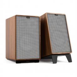 Retrospective 1978 Active - Aktives Lautsprechersystem walnuss Cover grau