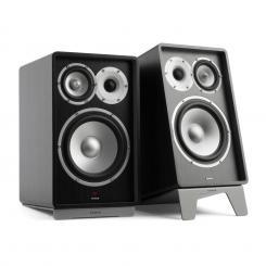 Retrospective 1978 Active Lautsprechersystem Lautsprecherständer schwarz