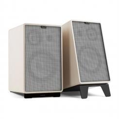 Retrospective 1978 Active - Aktives Lautsprechersystem weiß Cover grau
