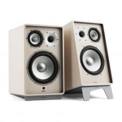 Retrospective 1978 Active Lautsprechersystem Lautsprecherständer weiß