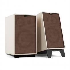 Retrospective 1978 Active - Aktives Lautsprechersystem weiß Cover braun
