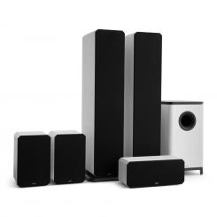 Octavox 751 MKII 5.1 Soundsystem weiß