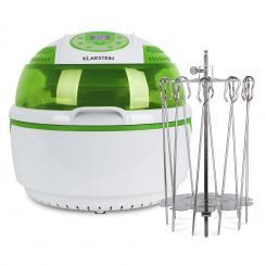 VitAir Grün Bundle Set | 1400W Heißluftfritteuse 9L | Drehspießrotator