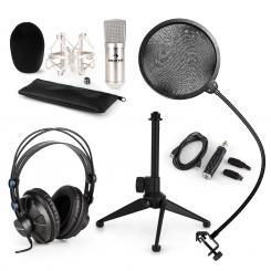CM001S Mikrofon-Set V2 Kopfhörer Kondensatormikrosilber