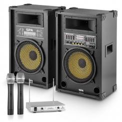 "PA-Party Set ""Yellow Star 12"" 1200W max. PA-System 