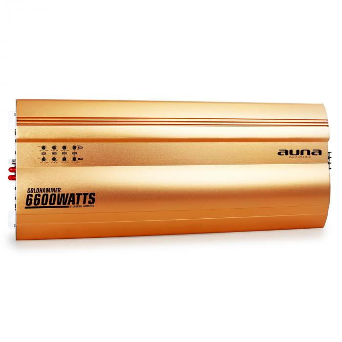 Goldhammer 5-Kanal Auto Endstufe 6600W