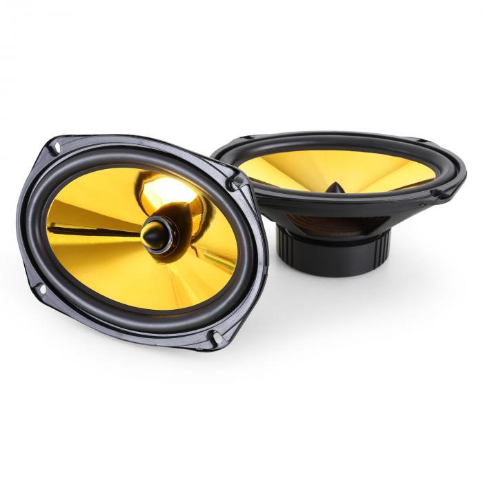 "Goldblaster Auto-Lautsprecher 15x23cm (6 x 9"") 2000W Paar"