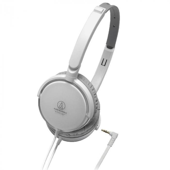 Audio-Technica FC-707WH Kopfhörer 40mm Neodym faltbar weiß