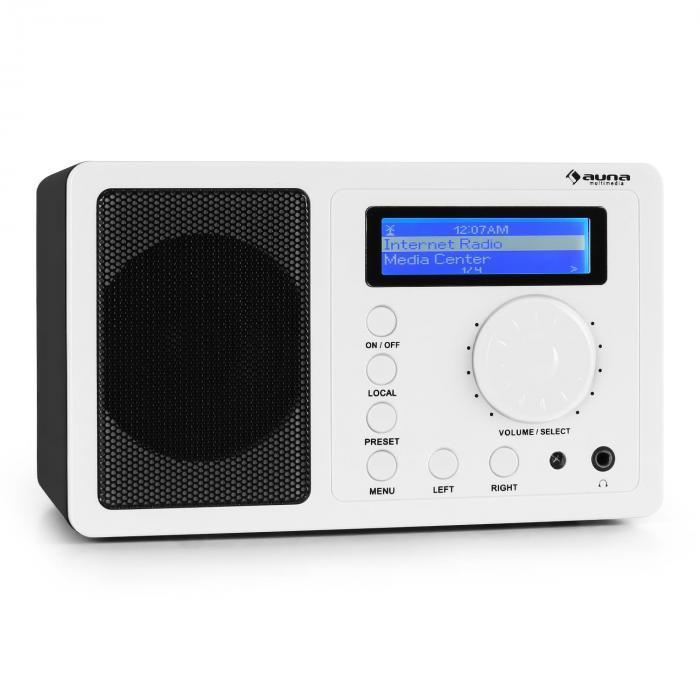 IR-130 Internetradio W-LAN Streaming weiß