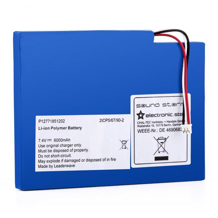 CS8 Zusatzakku für Soundstorm Boombox Lithium-Polymer-Akkumulator