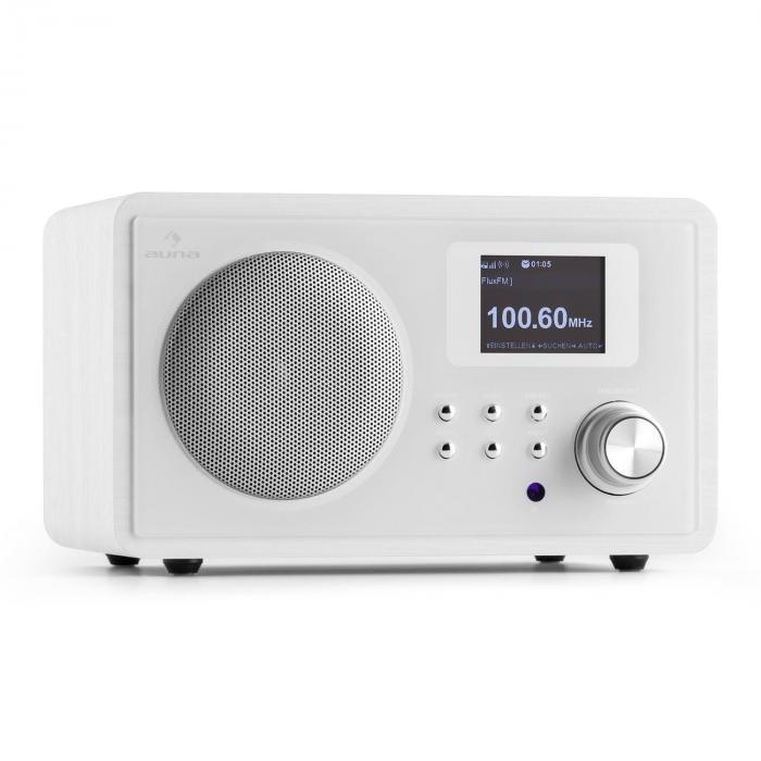 IR-150 Internet-Radio UKW DLNA W-LAN Retro Fernbedienung Holzgehäuse