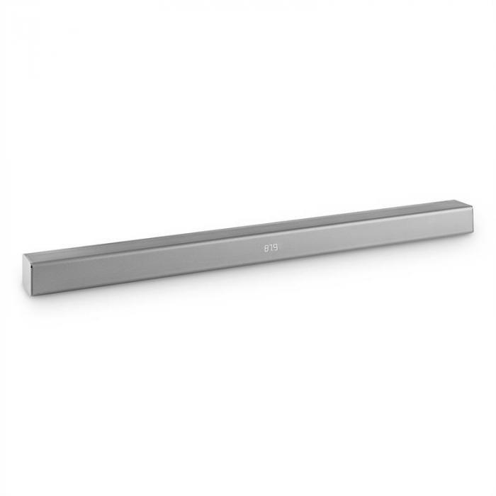 Areal Bar 350 2.0-Soundbar 80W Touch Bluetooth USB UKW Chrom silber