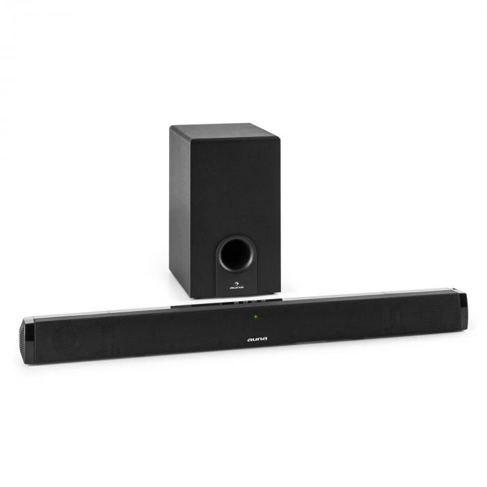 Areal Bar 550 Soundbar-Subwoofer 2.1 Bluetooth 60W RMS Aux-Eingang