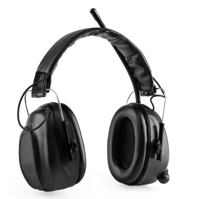 Jackhammer BT Baustellen-Kopfhörer Lärmschutzkopfhörer UKW-Radio 4.0 Bluetooth Aux-In SNR 28dB