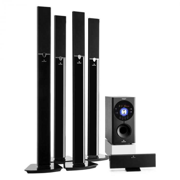 Areal 653 5.1-Kanal-Surround-System 145W RMS Bluetooth USB SD AUX