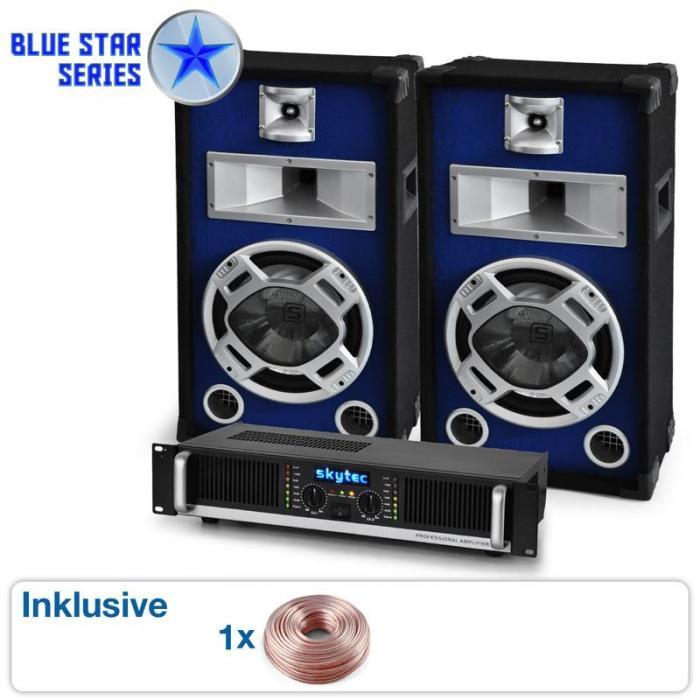 "PA Set Blue Star Series ""Beatbass I"" 800 Watt"