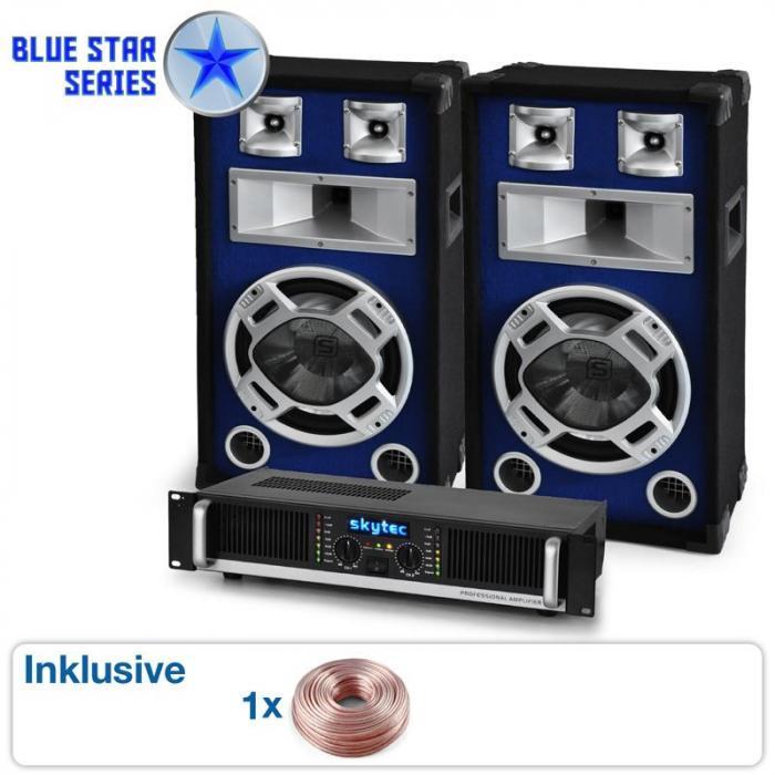 "PA Set Blue Star Series ""Beatbass II"" 1200 Watt"