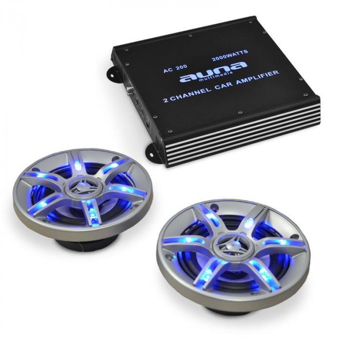BeatPilot FX-202 Car-Audio-Set