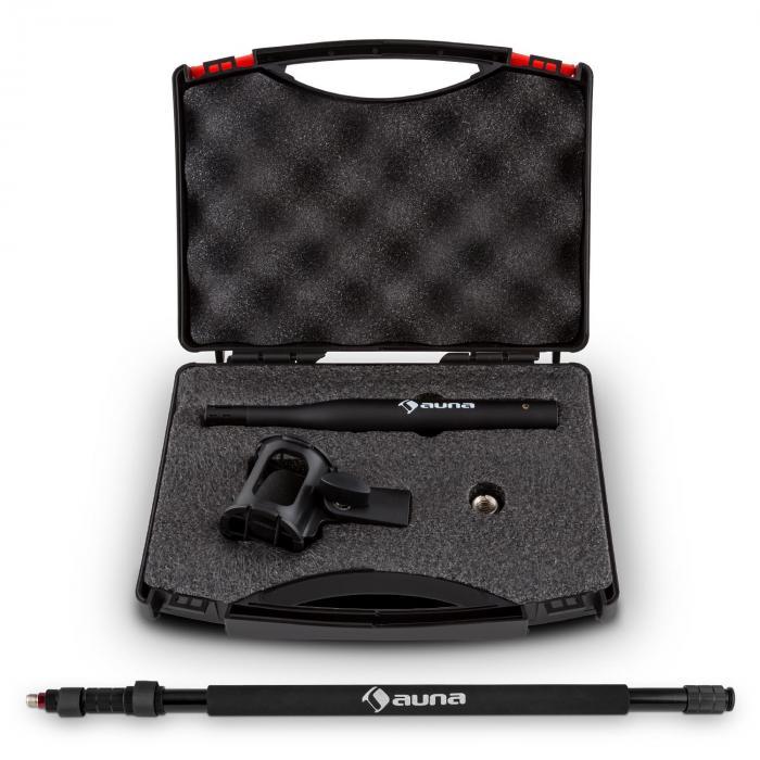 BP-002 Boompole Mikrofon Tonangel & aMRS-01 Mess-Mikrofon Elektret