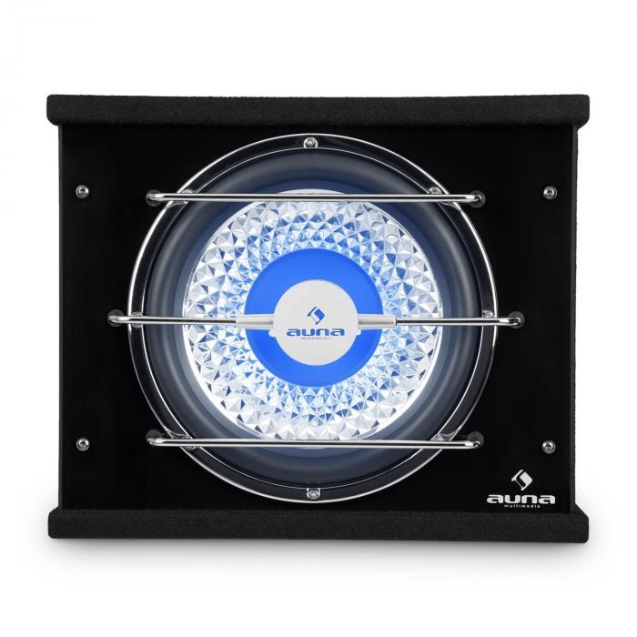 "CB300-34 Auto-Subwoofer 30cm (12"") 800W Bassbox LED-Beleuchtung"