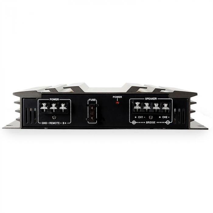 AB-250 Auto-Endstufe 2-Kanal-Verstärker brückbar 2 x 90W RMS, 1200W max.