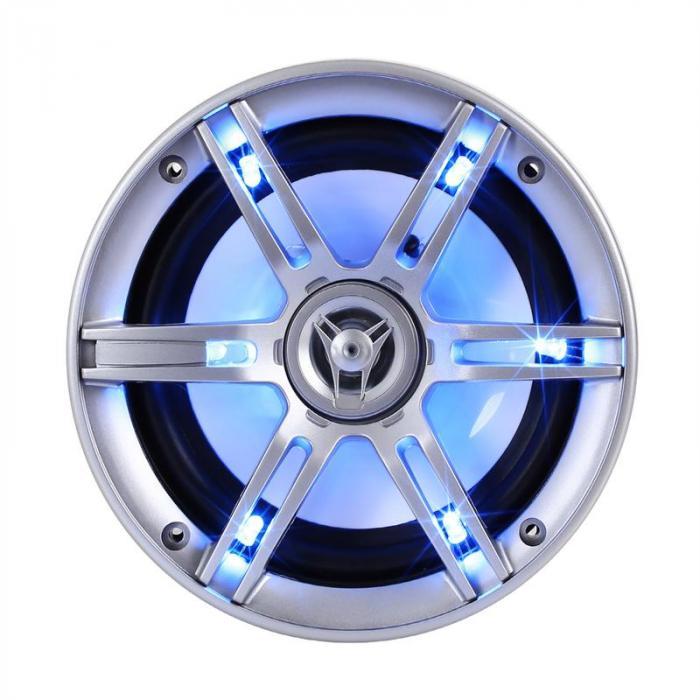 CS-LED65 16,5cm-Auto-Lautsprecher 2x400W max. LED-Lichteffekt
