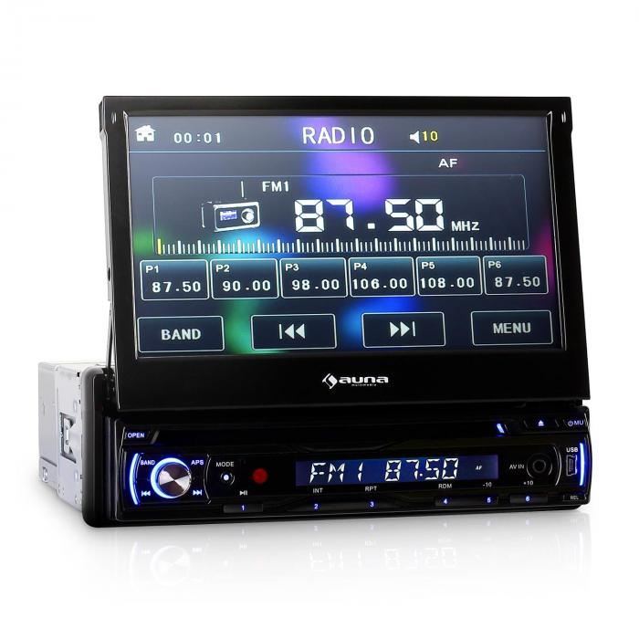 DTA90 Autoradio 18cm Moniceiver 8000W max. DVD-Player USB-SD