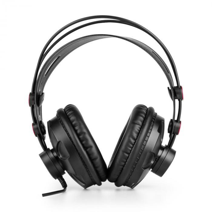 HR-580 Studiokopfhörer Over-Ear-Kopfhörer geschlossen rot