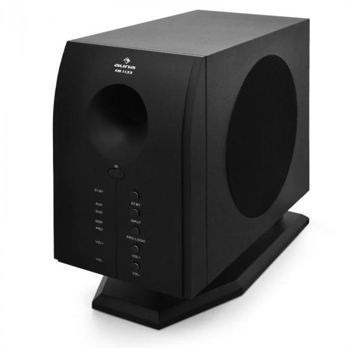 Areal 525 BK 5.1 Heimkino Lautsprecher Surround System Stativ Flash