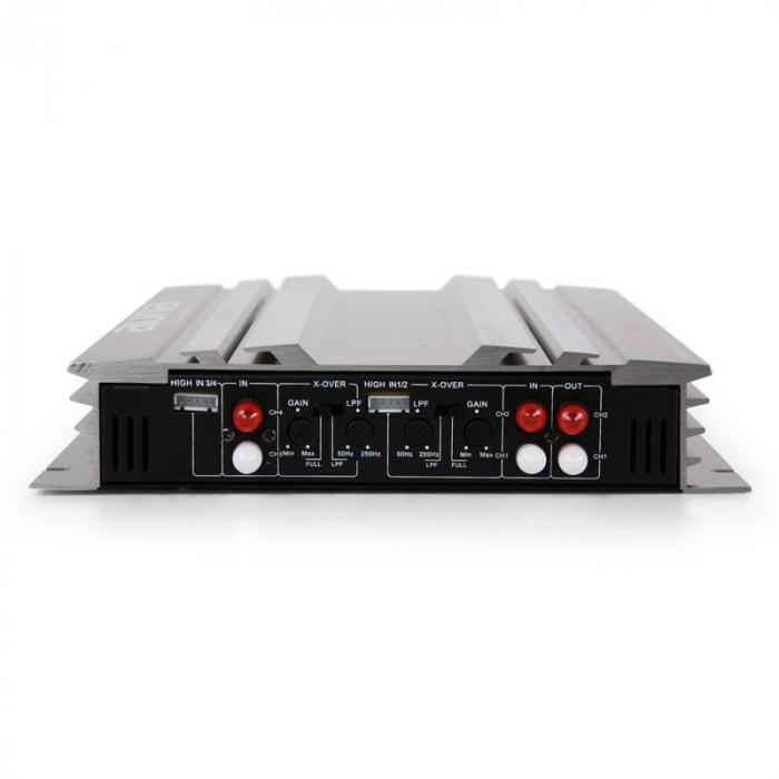"4.0 Car Hifi Set ""Platin Line 400"" Verstärker Boxen Set"