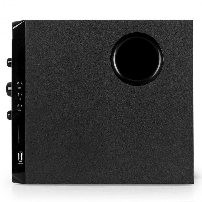 FS23 2.1-Lautsprecherset USB-SD-MP3 40W RMS