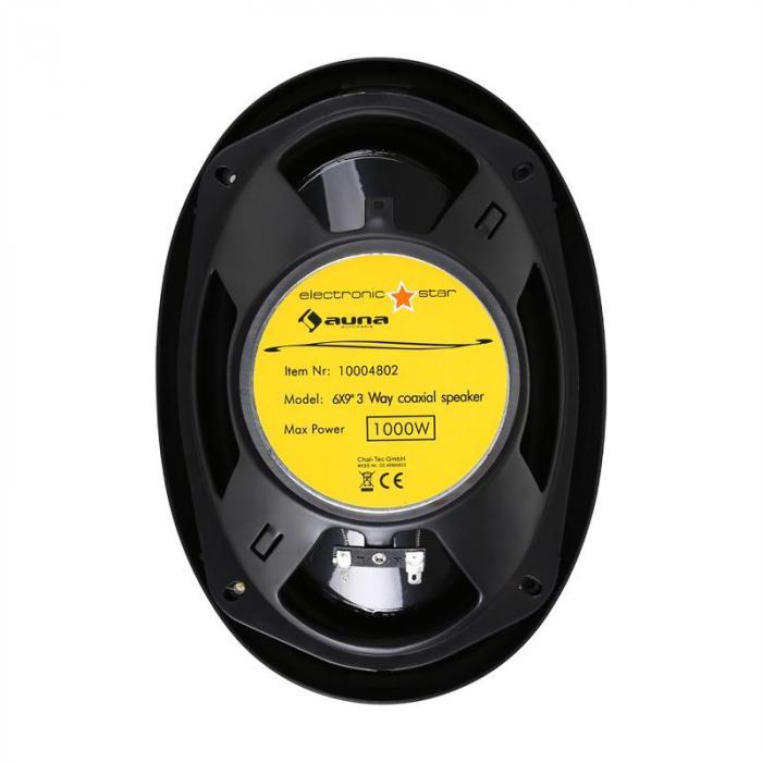 "CS-69831 Auto-Lautsprecher 15x23cm (6x9"") 2x500W max."