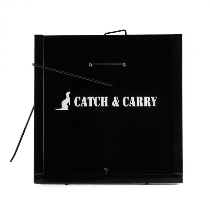 Catch & Carry L Marderfalle 30x30x75cm Lebendfalle 2mm Stahl schwarz