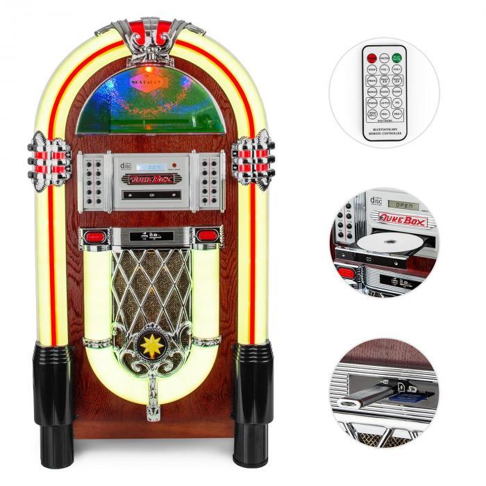 Graceland TT Jukebox Bluetooth Phono CD USB SD MP3 AUX UKW