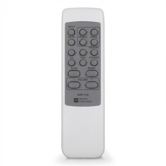 AMP-218 5.1-Receiver 600W Design-Blende silber